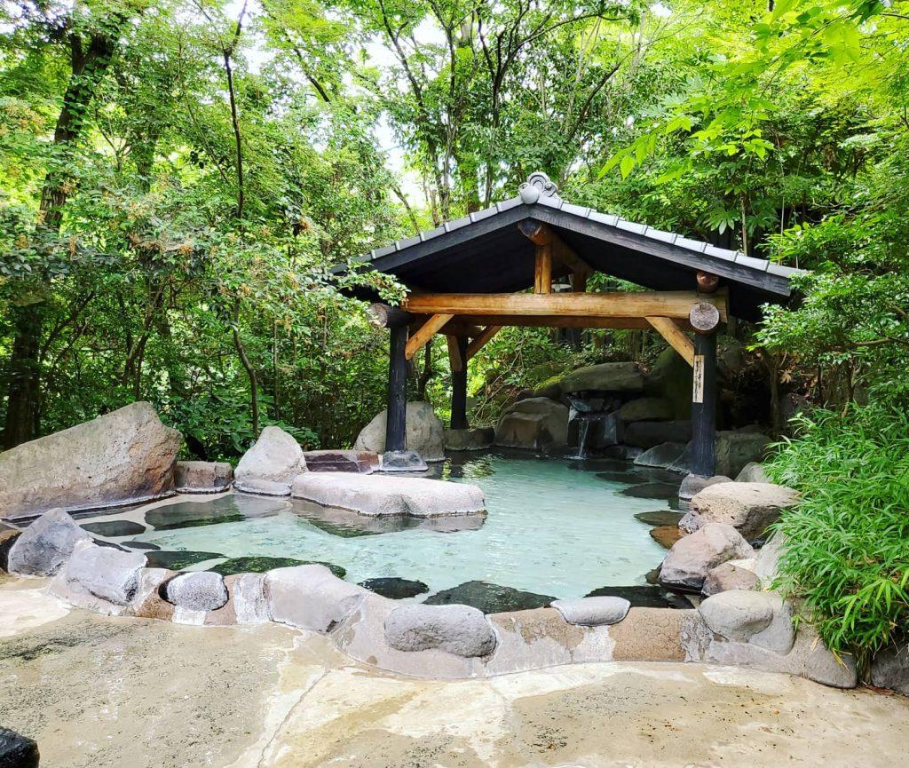 風呂 菊池 温泉 家族