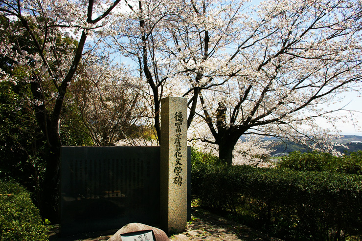 徳富蘆花文学碑